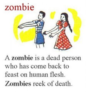 Zombie Childrens book