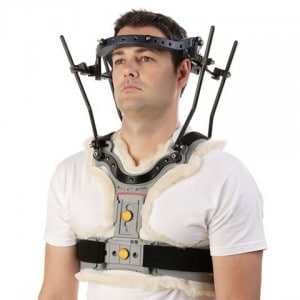 ReSolve-Halo-System Halo Traction Brace Cervical Neck Brace Screws in Head