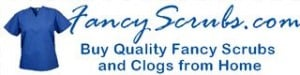fancy scrubs logo