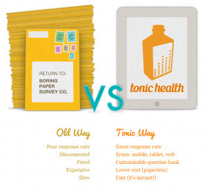 Tonic Health Refreshing Medical Data Collection