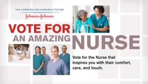 Amazing Nurses Contest – Sponsored by Johnson & Johnson
