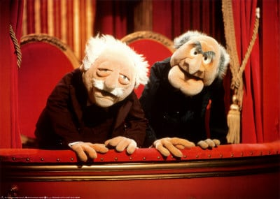 muppets statler and waldorf : Emergiblog and Nurse Ratched's Place