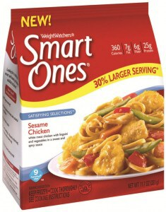 Satisfying Selections from Weight Watchers Smart Ones Review