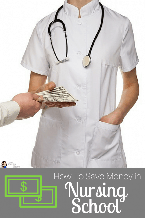 How To Save Money in Nursing School