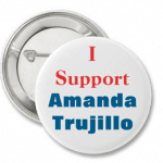 Let's Pin Arizona Board of Nursing and Banner Health: Support Amanda Trujillo Buttons