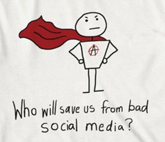 bad social media