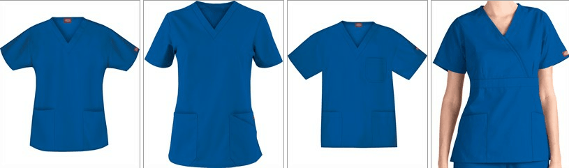From White To Blue Nursing Uniforms Evolve