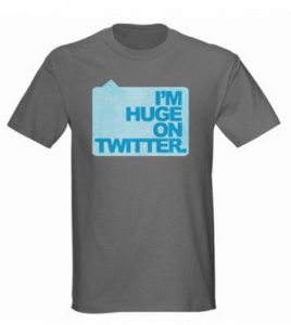 huge on twitter shirt