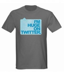 huge on twitter shirt