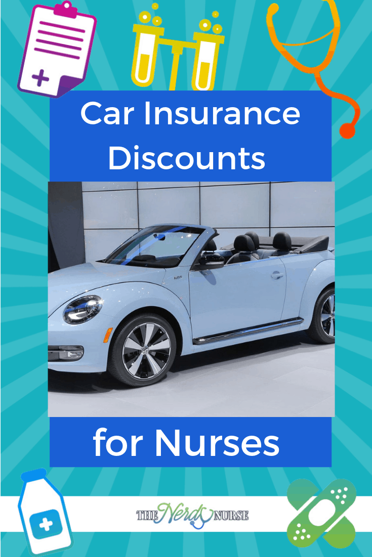 Car Insurance Discounts for Nurses #thenerdynurse #nurse #nurses #insurance #discount #carinsurance