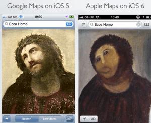 iOS 6 Maps Show Multiple Dimensions [Parody]