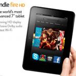 Amazon Kindle Fire HD is HOT!