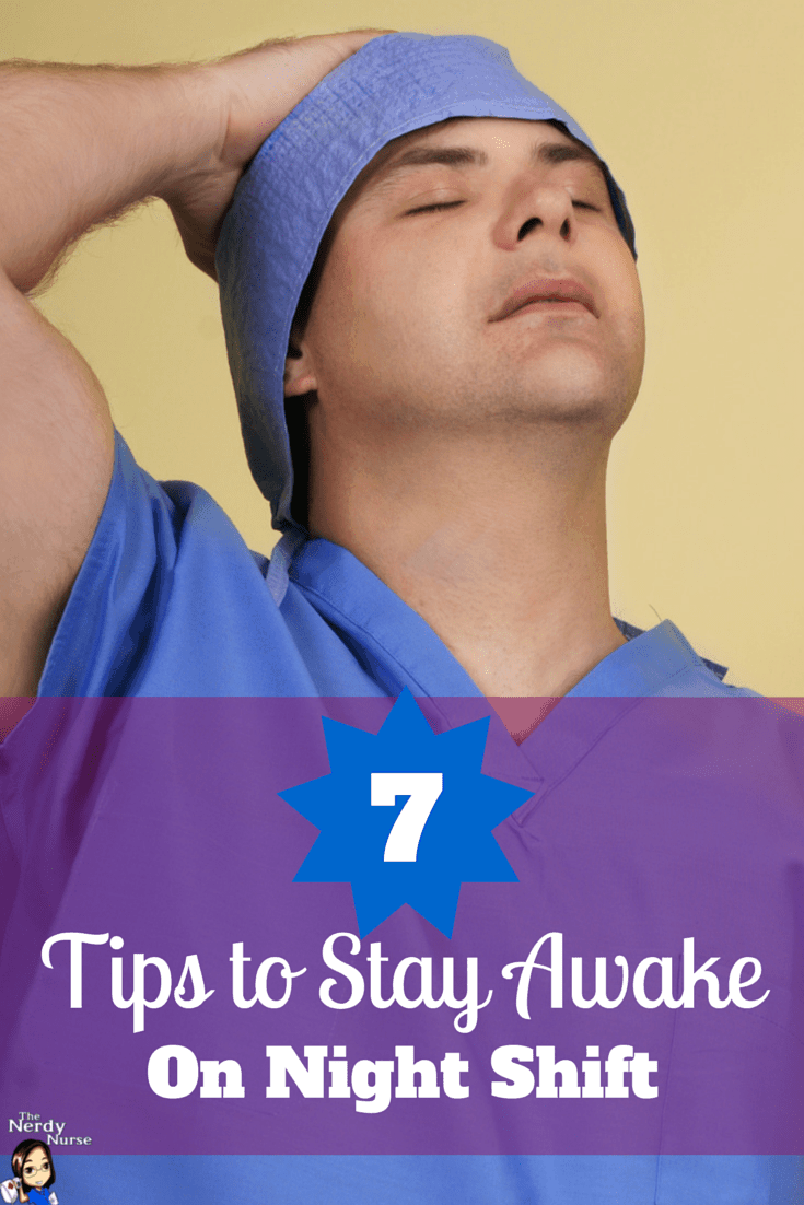 tips to stay awake on night shift