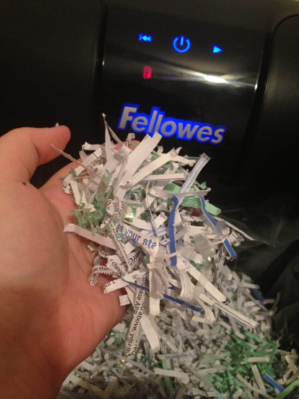 fellows shredder