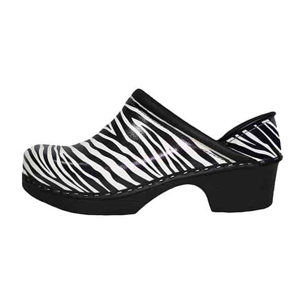 C&C Sweden Clogs - ZEBRA FULL BACK