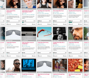Crowdfunding $1500 for #GoogleGlass
