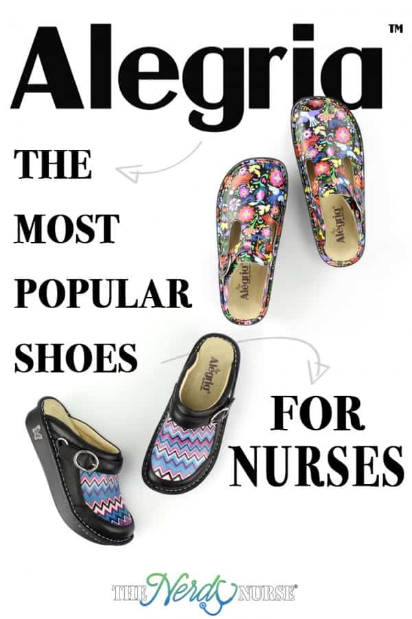 Most Popular Shoes for Nurses Alegria Clog