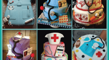 Super Cute Nurse Cakes from Pinterest
