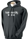 talk nerdy hoodie