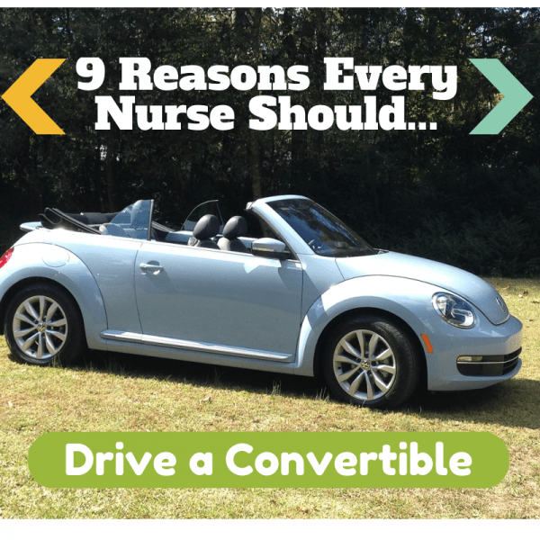 9 Reasons Every Nurse Should Drive a Convertible