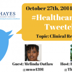 Join me for a #HealthcareChat Tweetchat on EHR Clinical Readiness Oct 27 at 9pm ET