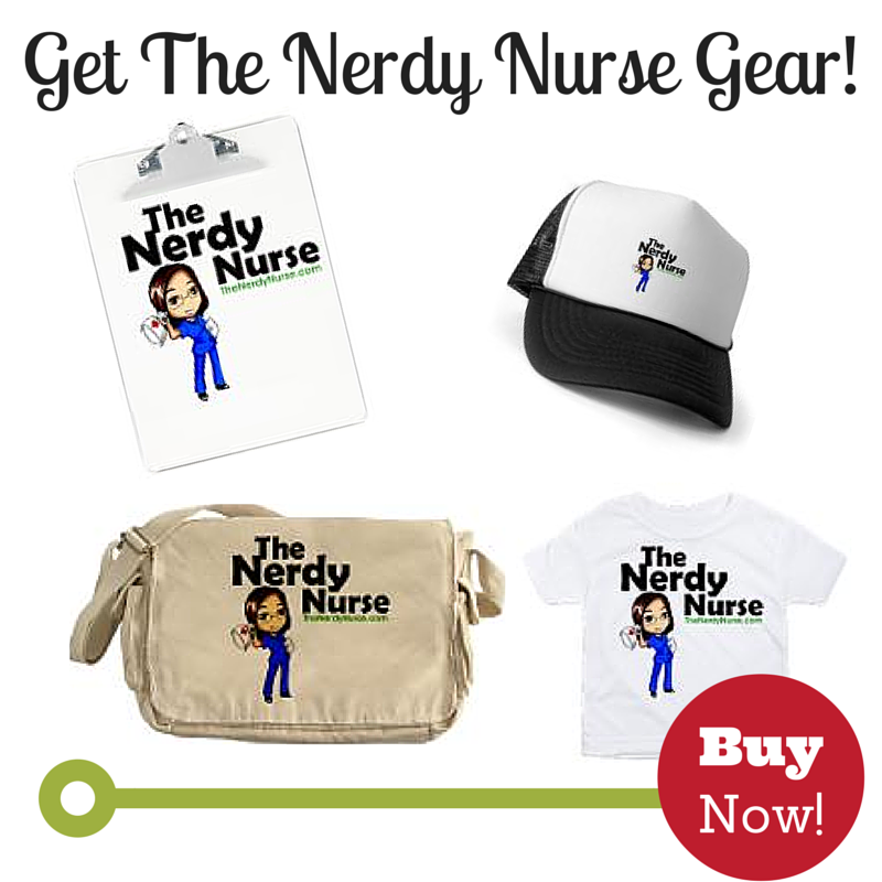 The Nerdy Nurse Gear