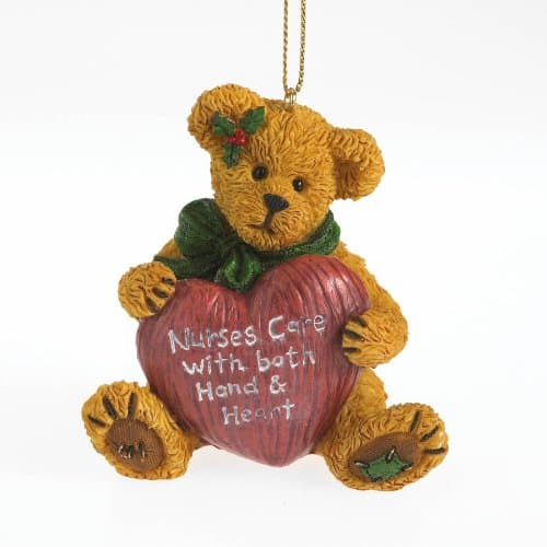 Nurses Care Bear Ornament