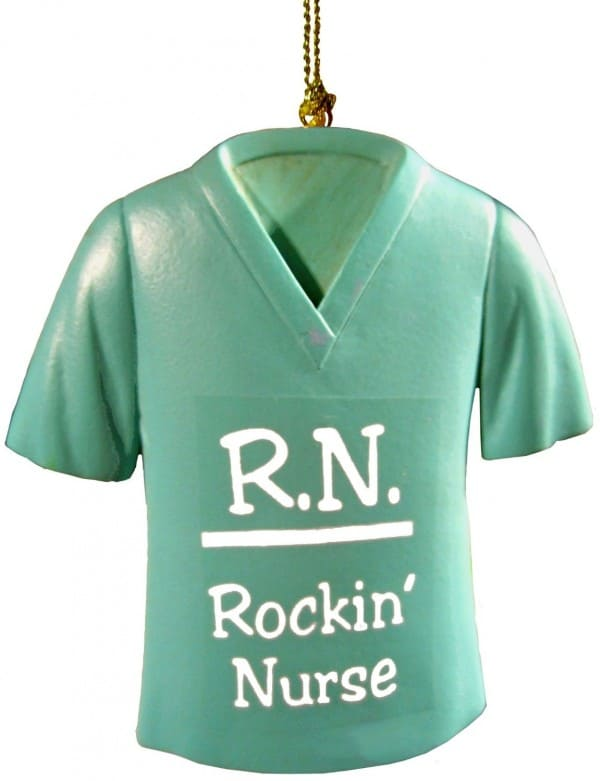 RN Rockin Nurse Ornament