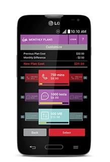 LG Pulse Virgin Custom Mobile