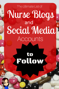 The Ultimate List of Nurse Blogs and Social Media Accounts to Follow