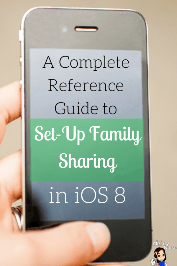 A Complete Reference Guide to Set Up Family Sharing in iOS 8