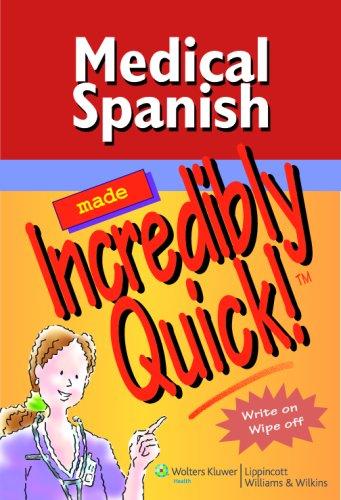 Medical Spanish Made Incredibly Quick