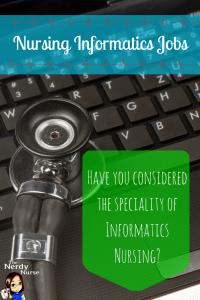 Informatics Nursing Speciality