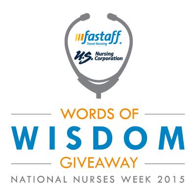 National Nurses Week Words of Wisdom Giveaway