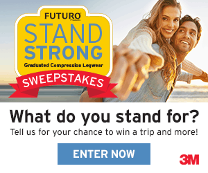 FUTURO STAND STRONG sweepstakes
