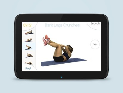 Best Abs Fitness Android App