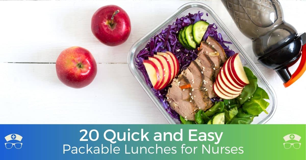20 Quick and Easy Packable Lunches for Nurses