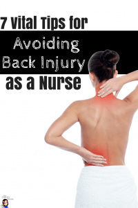 7 Vital Tips for Avoiding Back Injury as a Nurse