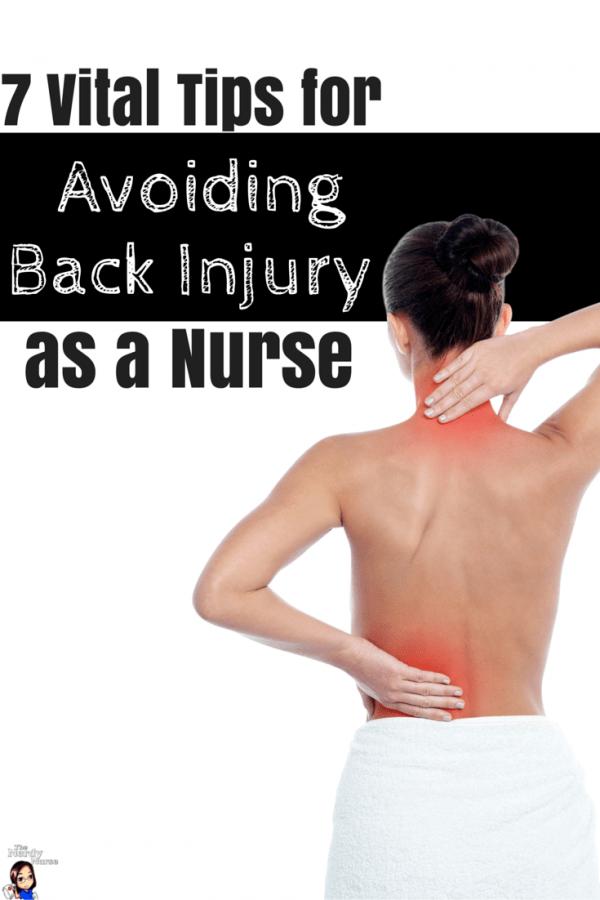 7 Vital Tips for Avoiding Back Injury as a Nurse