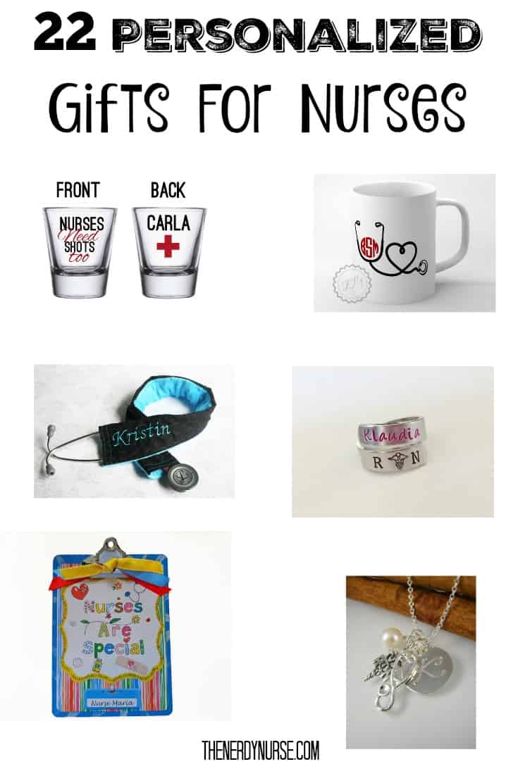 22 Personalized Gifts For Nurses