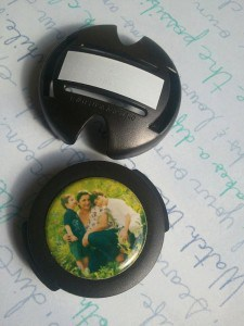 Custom Resin Photo Stethoscope ID Tag