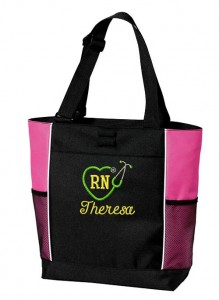 Personalized Nurses Tote
