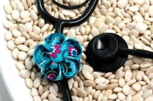 Stethoscope Flower ID Tag