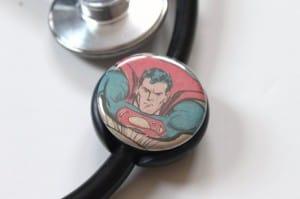 Superman Stethoscope ID