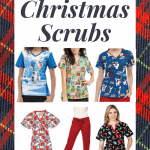 5 Fun and Festive Christmas Scrubs