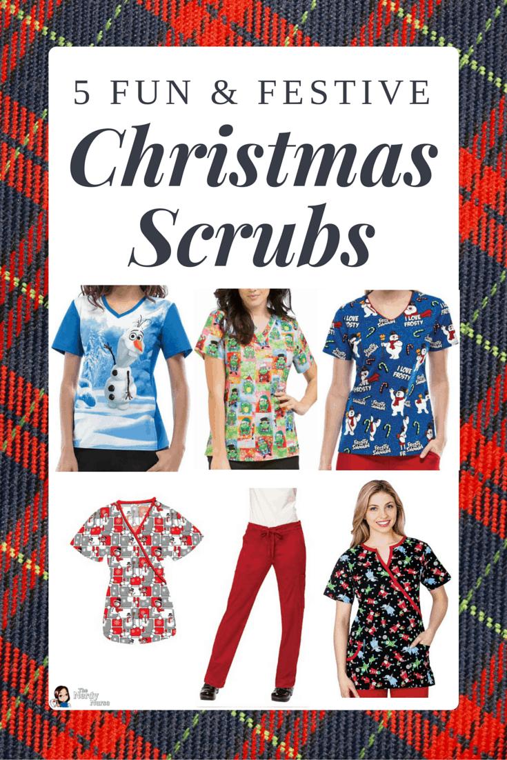 281ce762251 5 Fun and Festive Christmas Scrubs