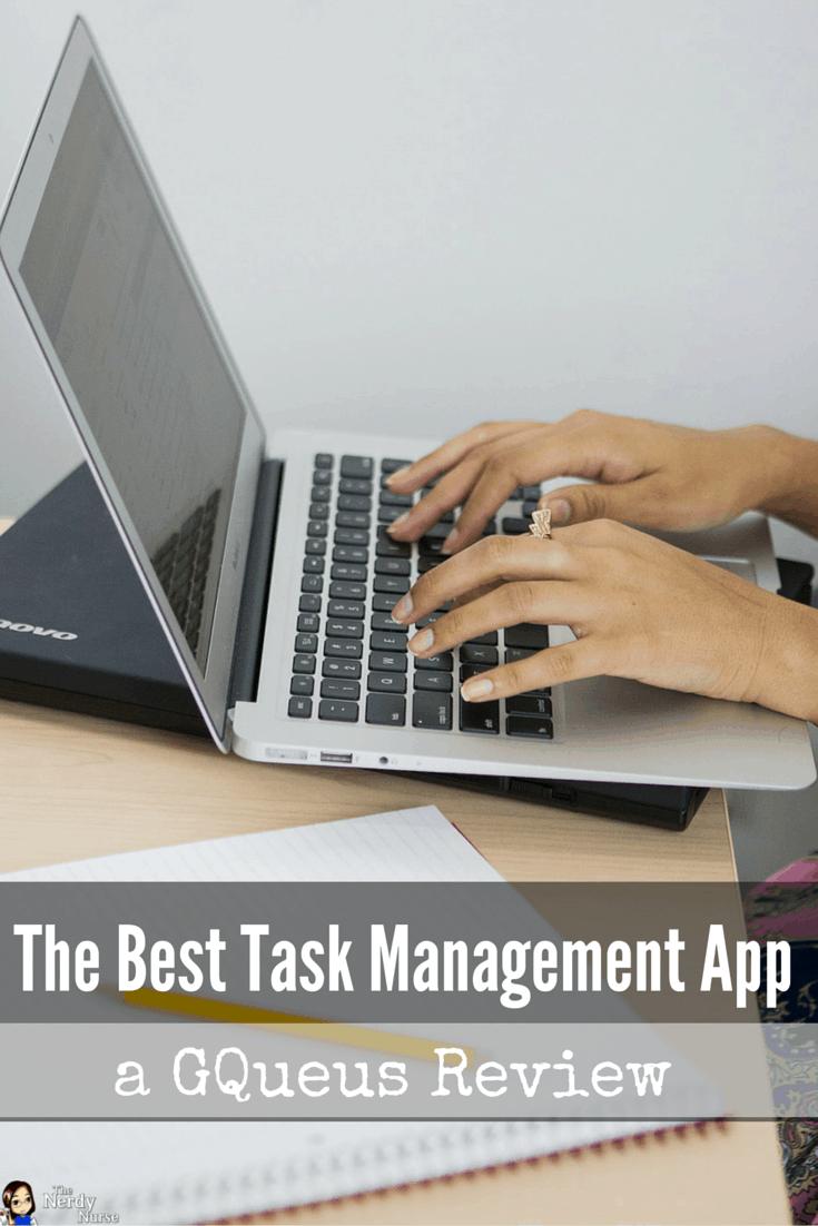 The Best Task Management App - A GQueues Review