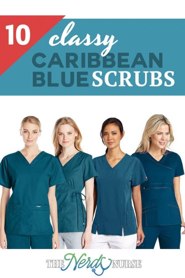 Caribbean Blue Scrubs