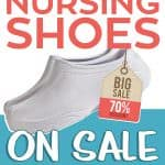 Where to Find Nursing Shoes on Sale