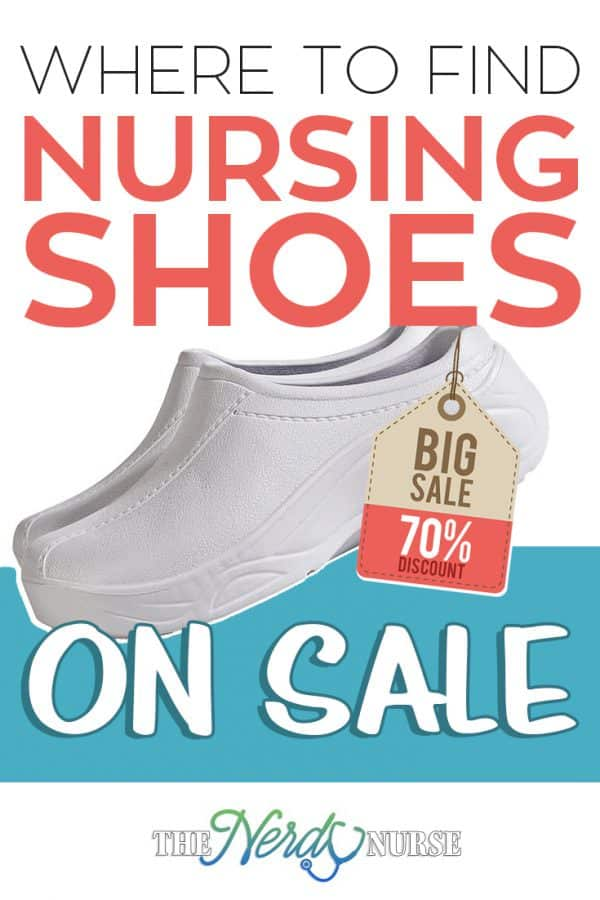nursing shoes on sale